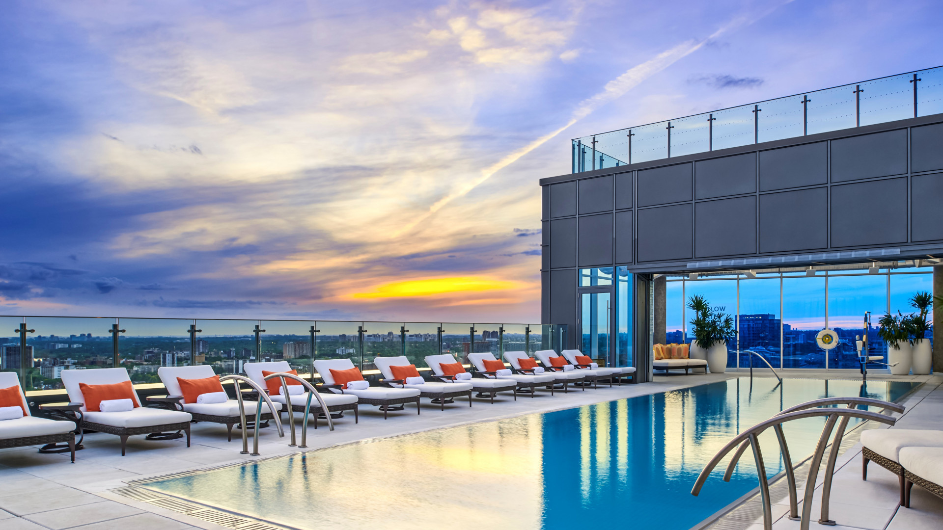 The best Toronto hotels for a staycation | Rooftop pool at Hotel X