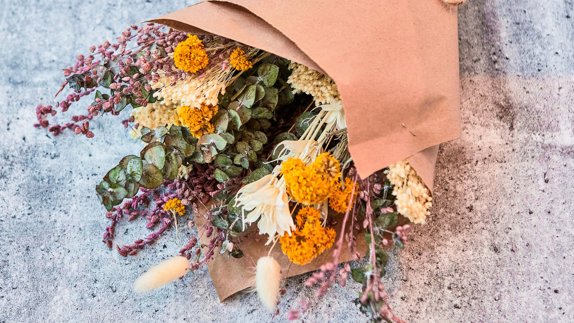 Restaurant review: Shook | Dried floral arrangements from Botany Floral Studio are available at Shook
