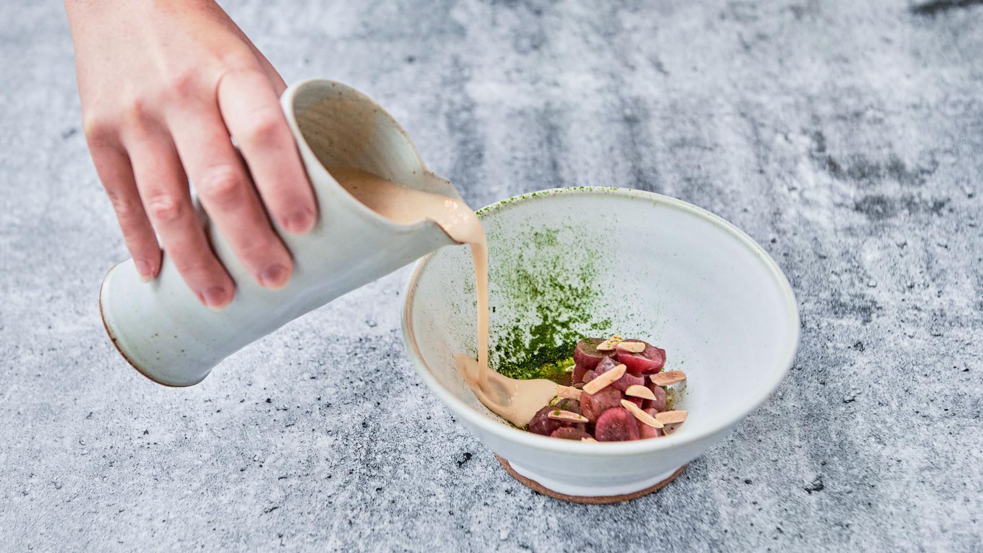 Restaurant review: Shook | Cauliflower soup at Shook