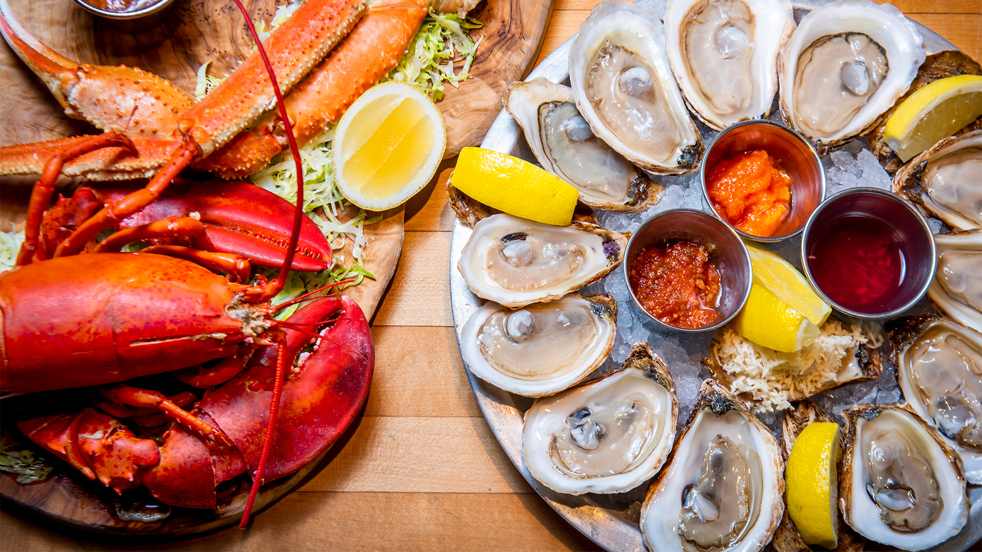 Restaurant supply chains: Lobster and oysters from Oyster Boy