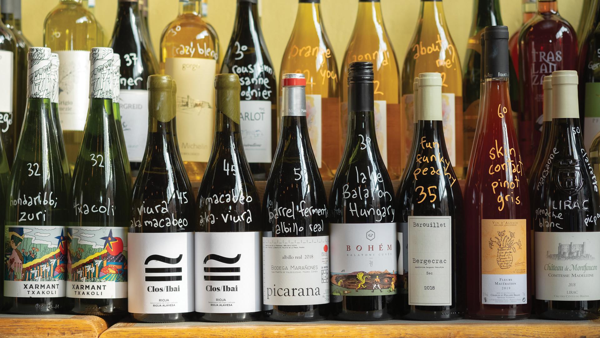 The best bottle shops in Toronto | Wine bottles at La Palette