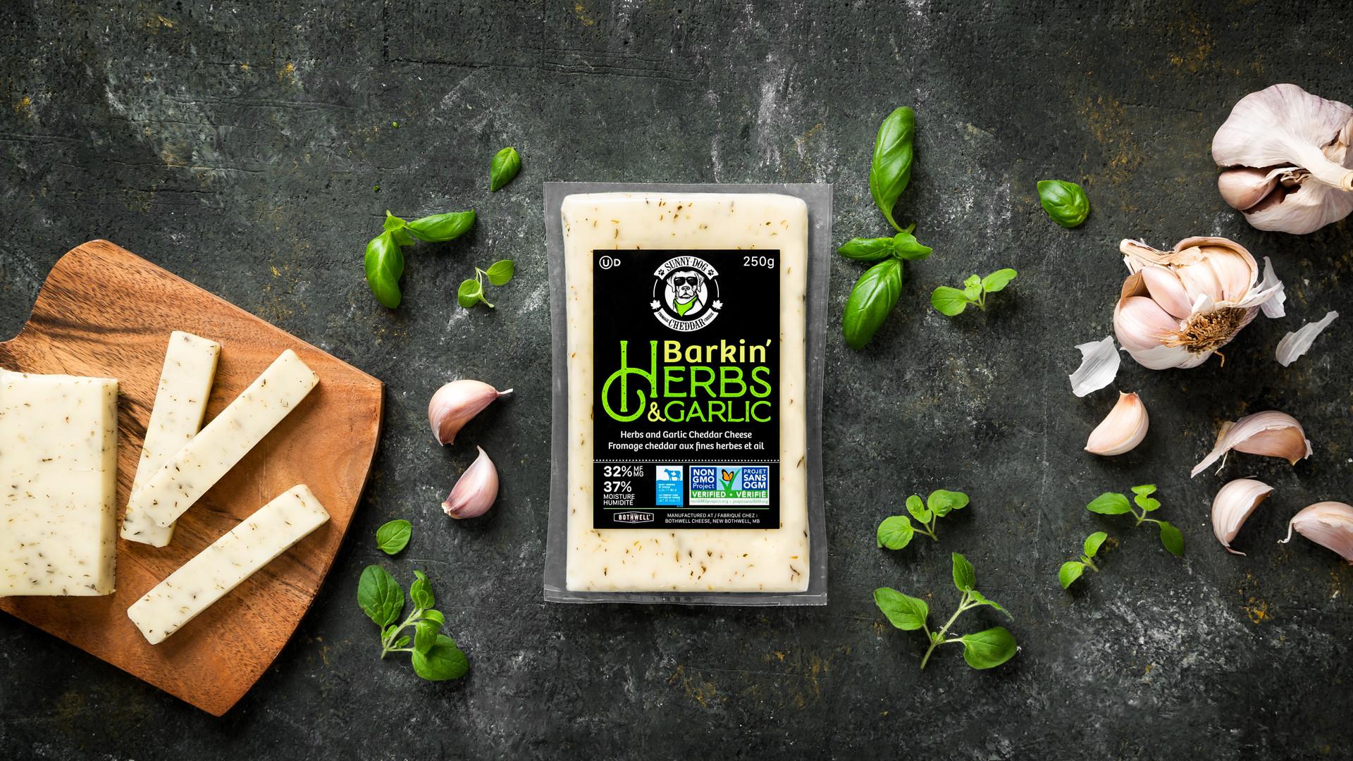 Win a Bothwell Cheese Sunny Dog Barkin' Herb & Cheddar prize pack | Sunny Dog Barkin' Herb & Cheddar