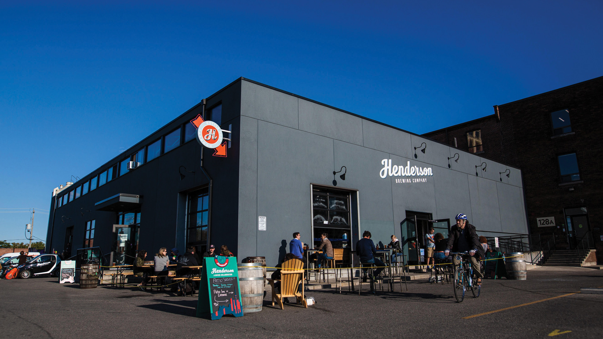 Henderson Brewing | Outside Henderson brewery in The Junction