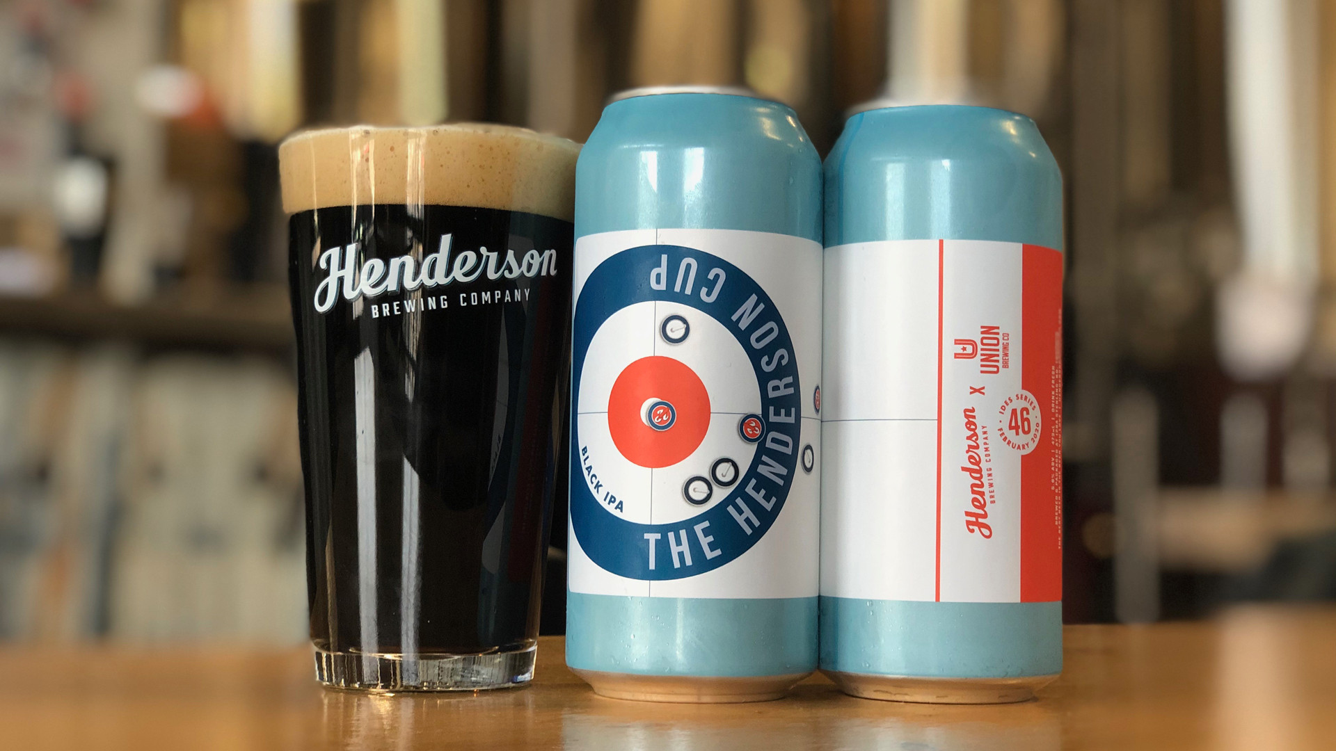 Henderson Brewing | Ides of February 2020: The Henderson Cup Black IPA