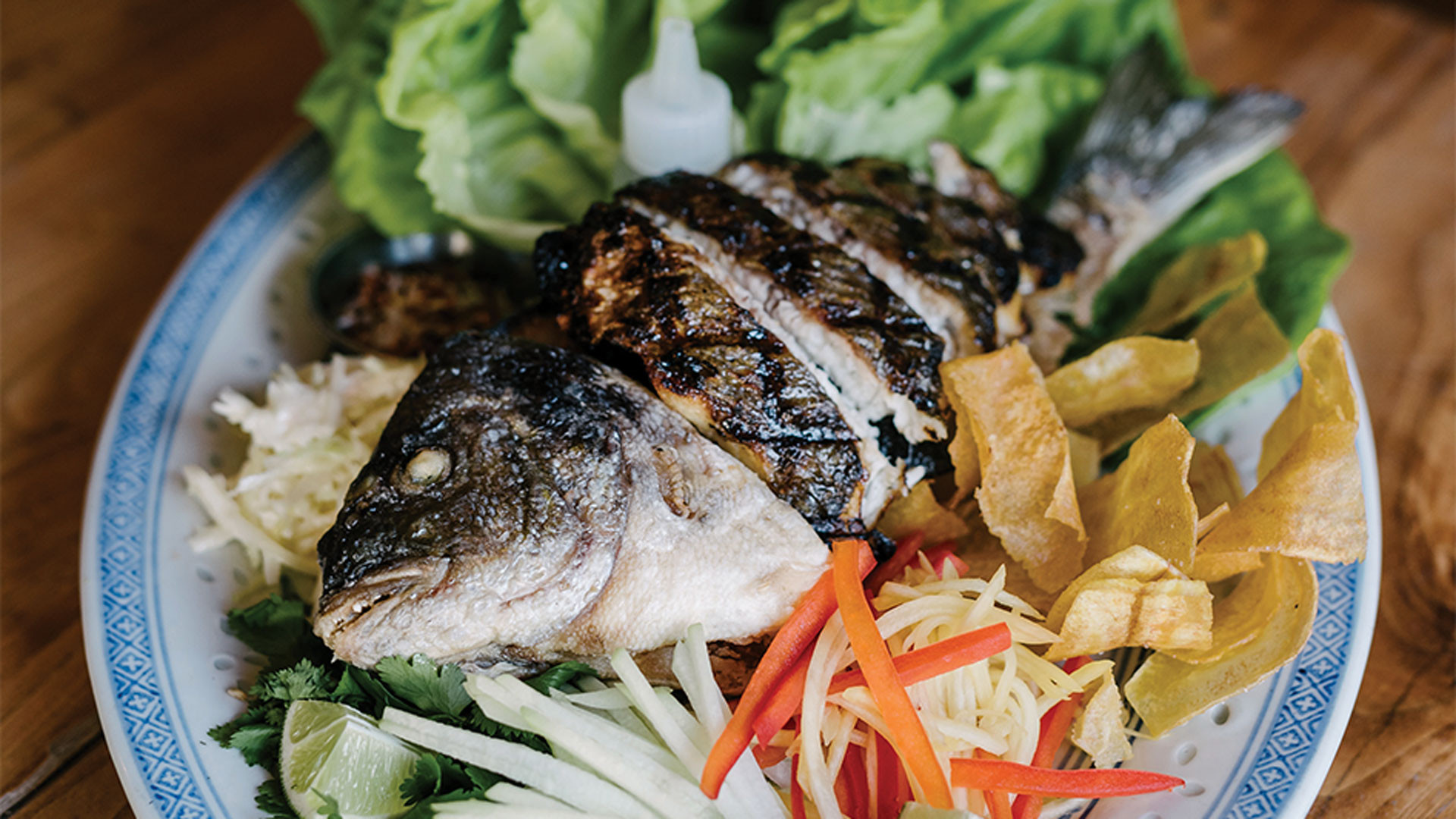 Iconic Dishes: 416 Snack Bar | Jerk Fish