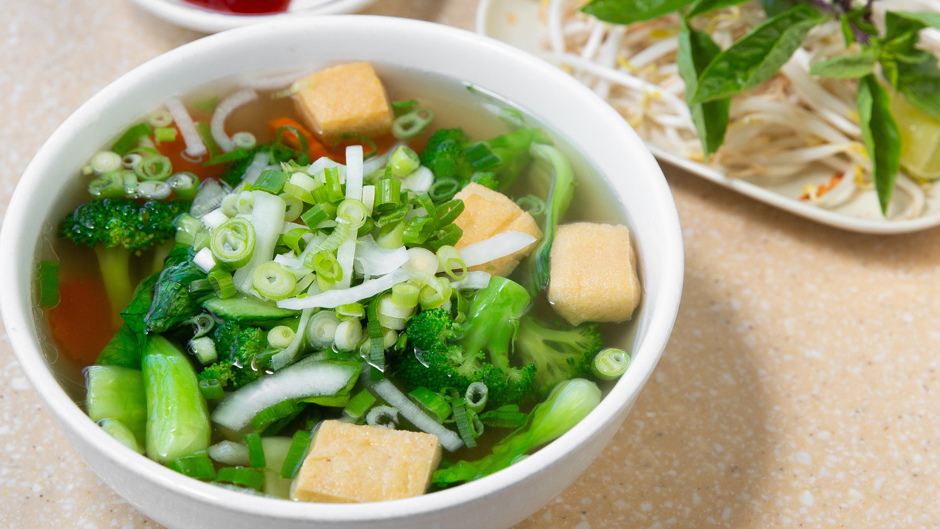 Trinity Bellwoods neighbourhood guide   A bowl of tofu pho at Golden Turtle