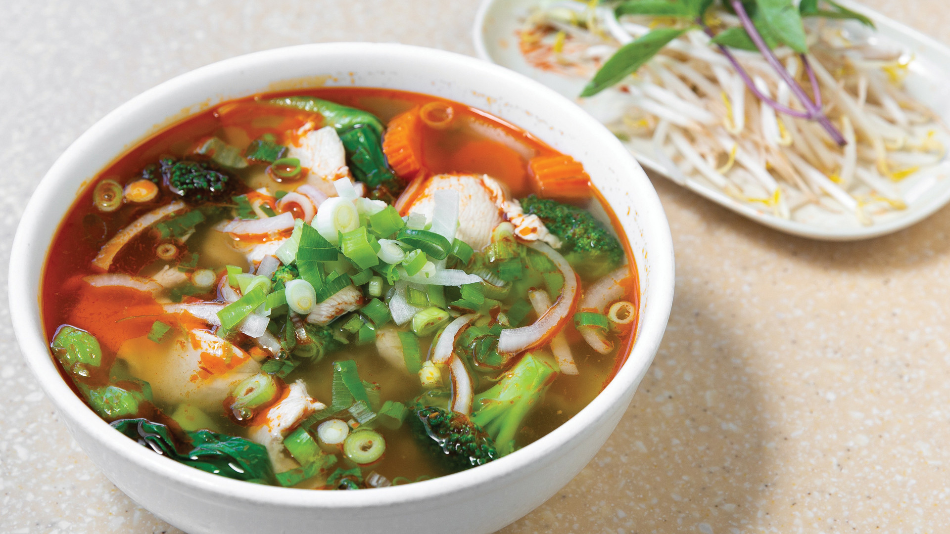 Trinity Bellwoods neighbourhood guide   A bowl of spicy pho at Golden Turtle