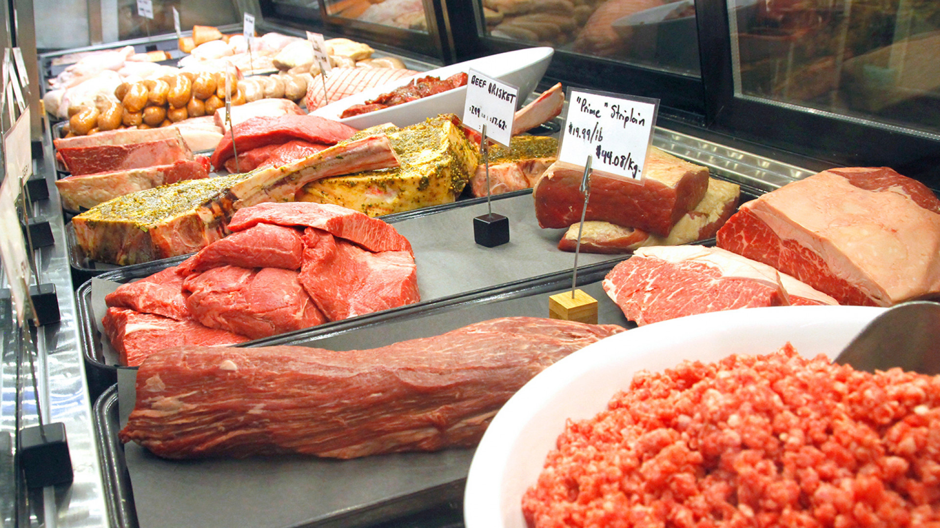 Trinity Bellwoods neighbourhood guide   The meat counter at Unboxed Market