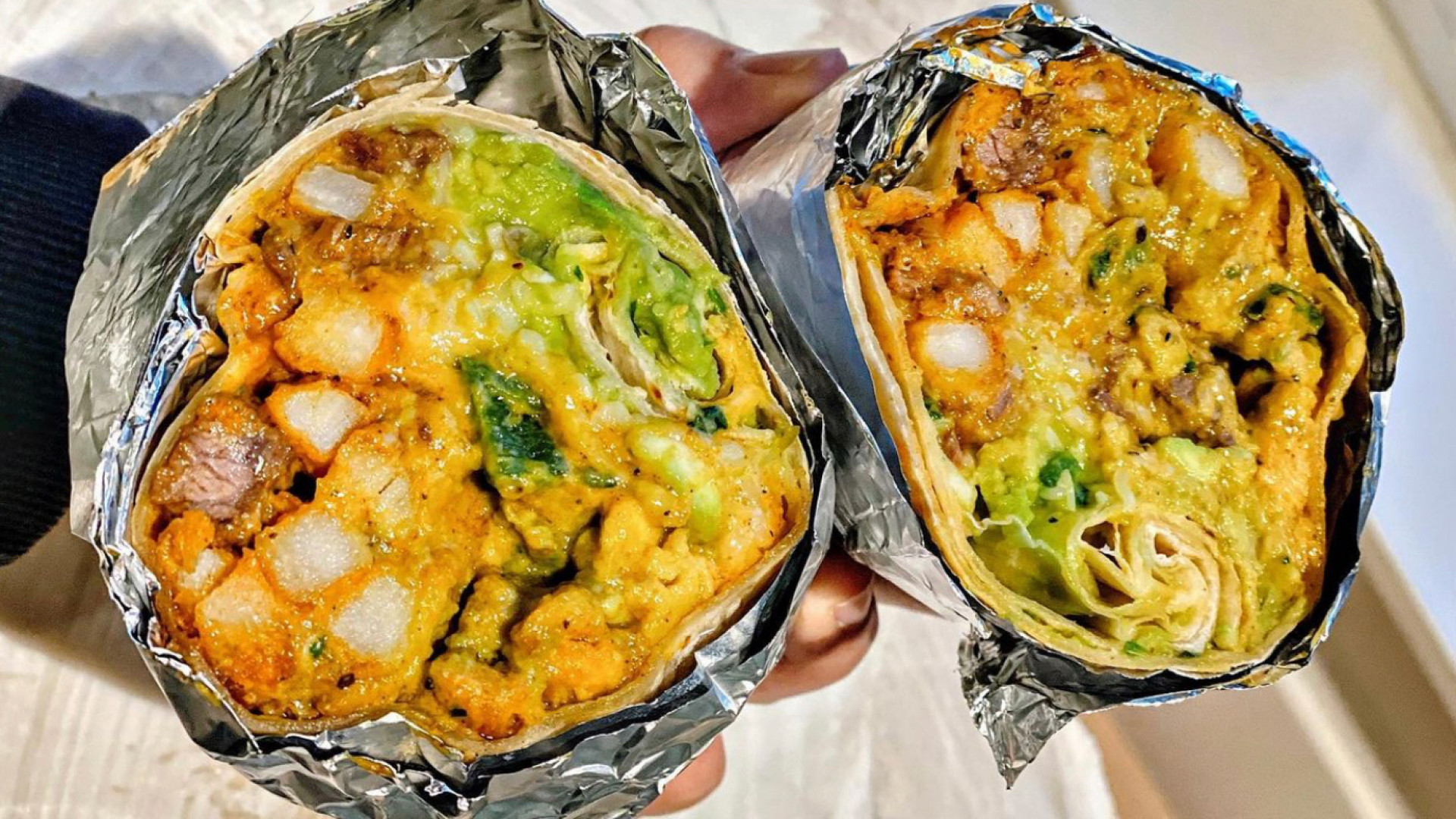 The best new restaurants in Toronto | NorCal burrito at Man vs Fries