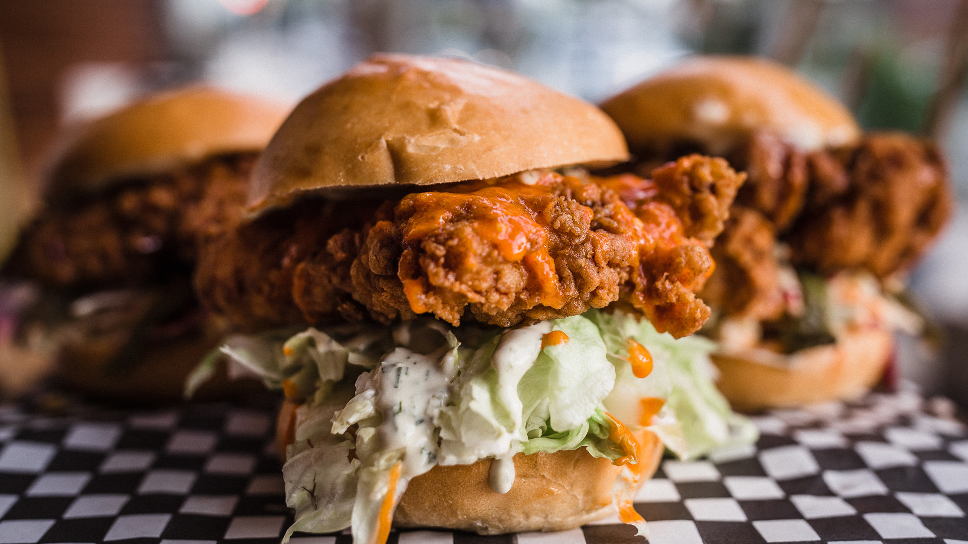 The best fried chicken sandwiches in Toronto | A Buffalo fried chicken sandwich from Knuckle Sandwich