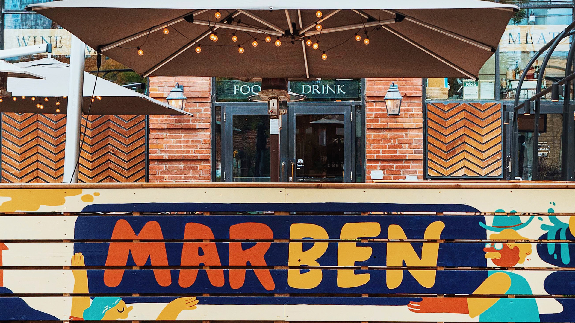 The best patios in Toronto | The patio at Marben on King West