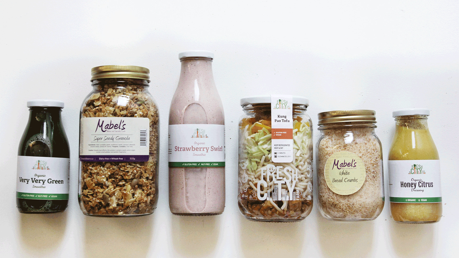 Fresh City Farms | Sustainable meal jars
