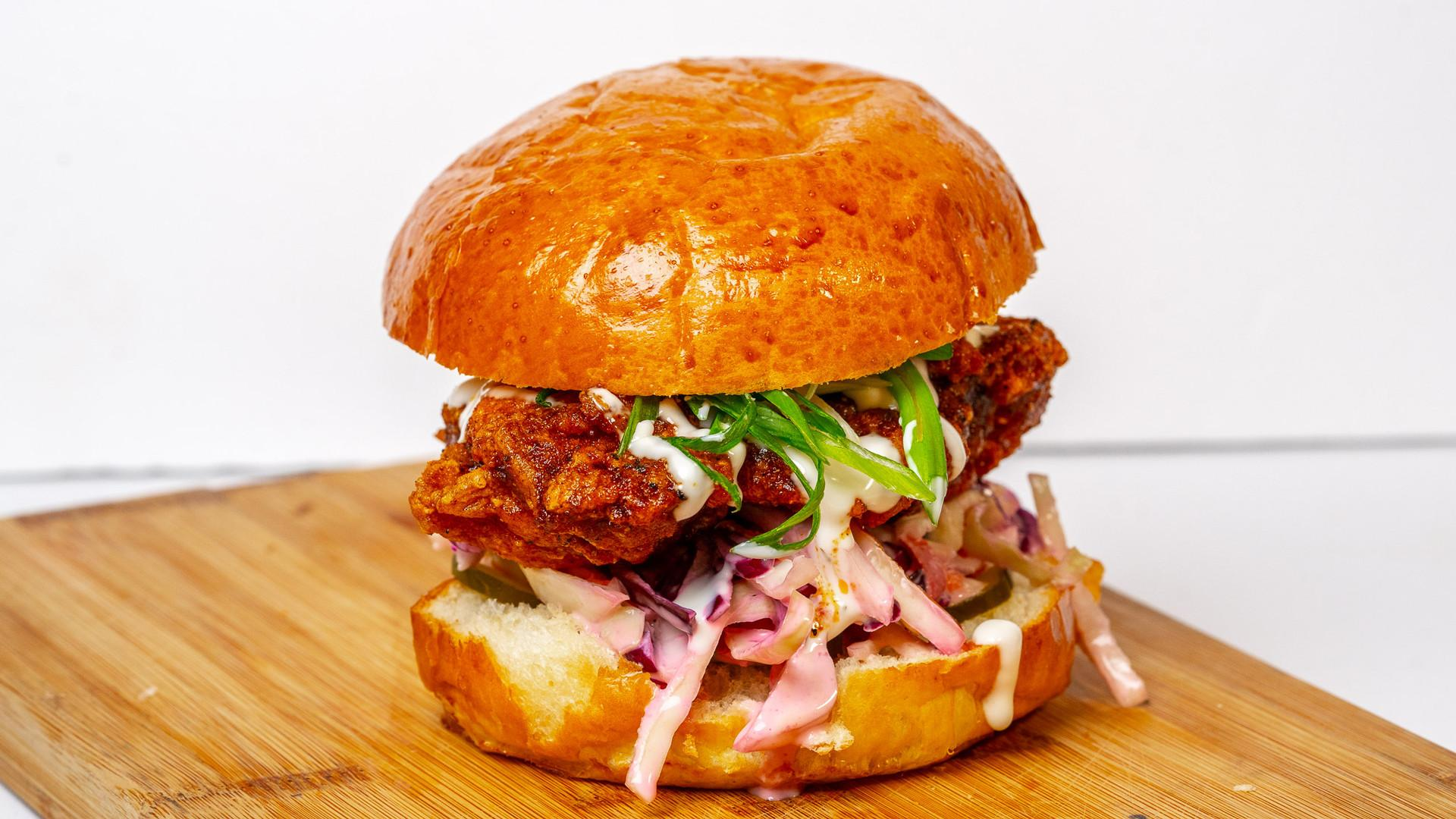 Things to do in Toronto this June | Tokyo Hot Fried Chicken signature sandwich