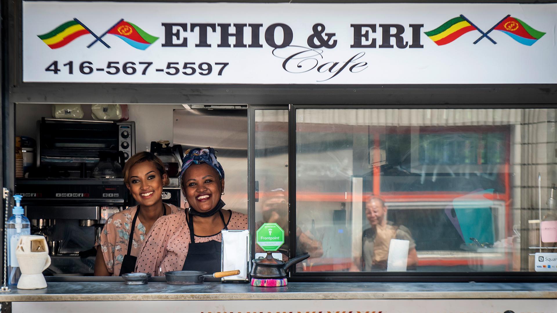 The best Toronto food markets   Ethio & Eri Cafe serves authentic Ethiopian and Eritrean dishes at Market 707