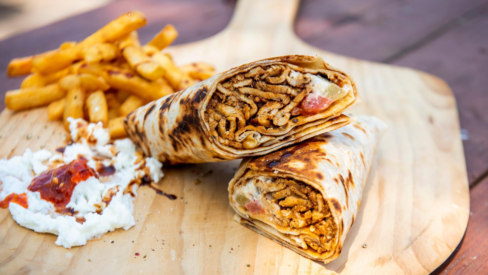 The best Toronto food markets   Chicken shawarma from Chef Harwash at Market 707