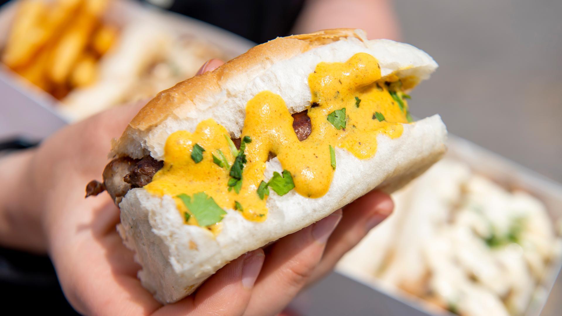 The best Toronto food markets   A sandwich from Tut's at Street Eats market