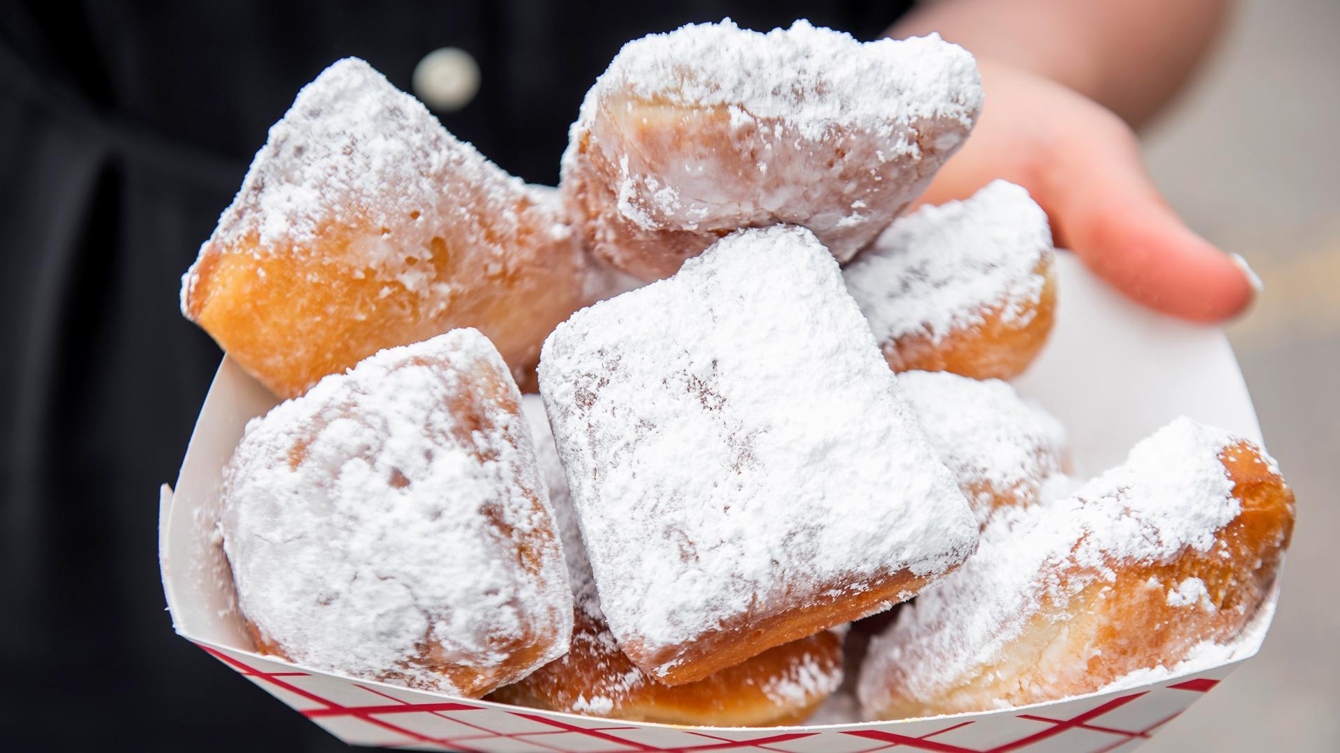 The best Toronto food markets   Beignet Shoppe serves fluffy doughnuts at Street Eats market