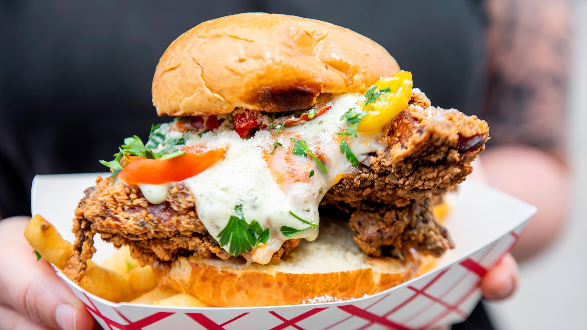 The best Toronto food markets   6 Spice Rack dishes out fried chicken sandwiches at Street Eats Market