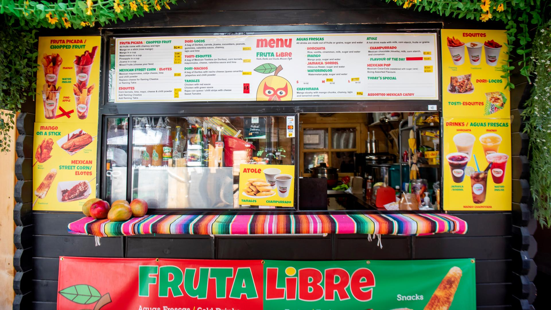 The best Toronto food markets   At the World Food Market, Fruta Libre specializes in Mexican street food