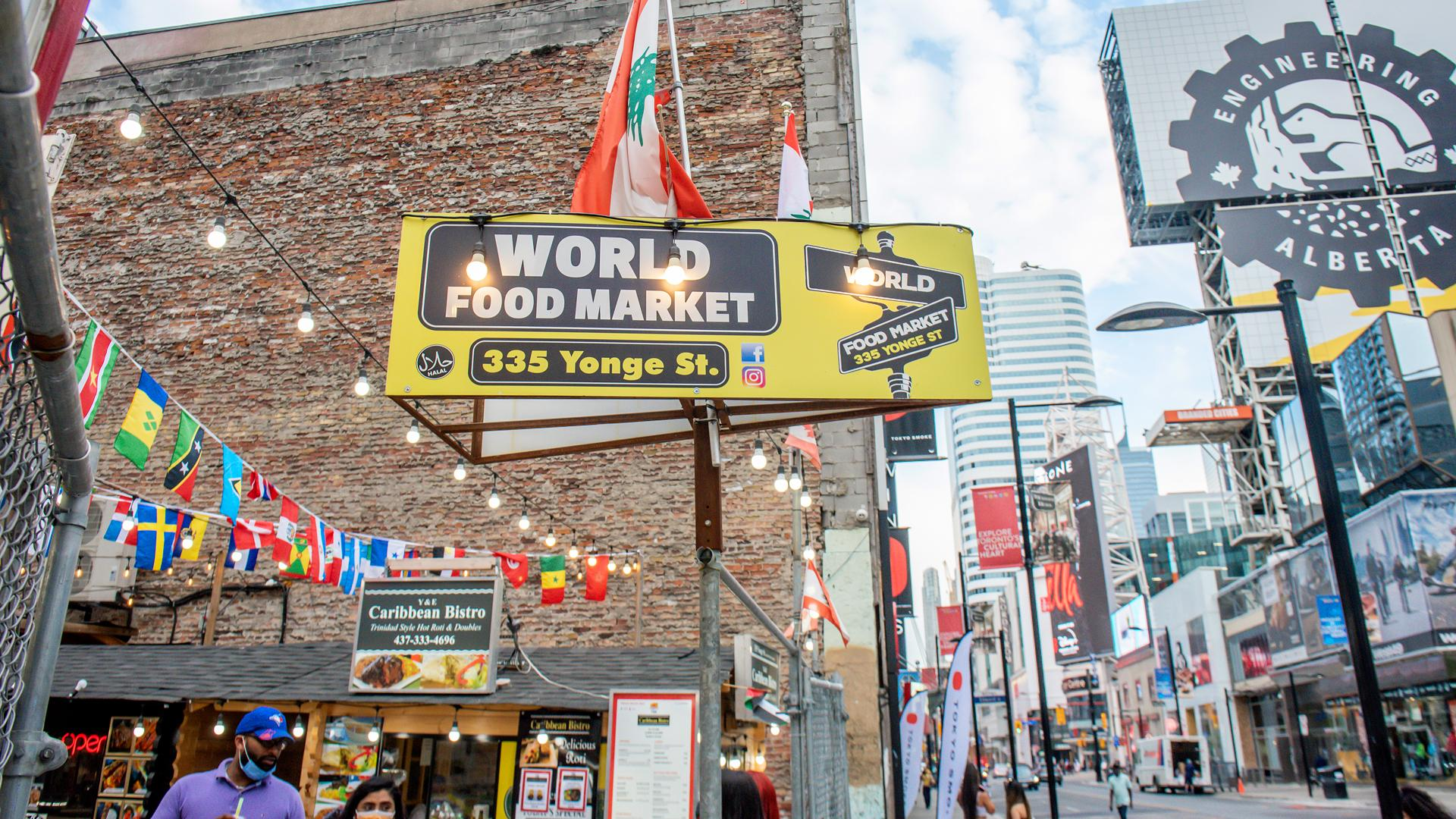 The best Toronto food markets   The World Food Market near Dundas Square