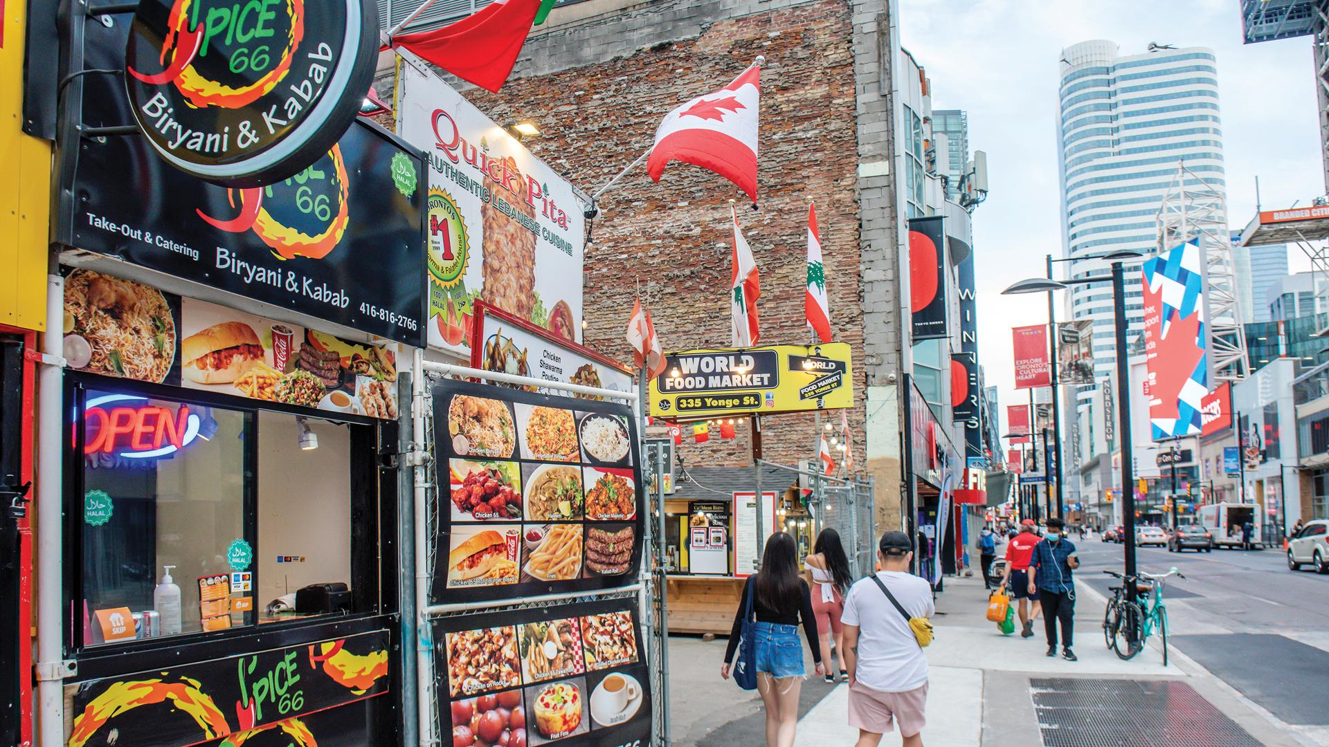 The best Toronto food markets   Spice 66 at the World Food Market