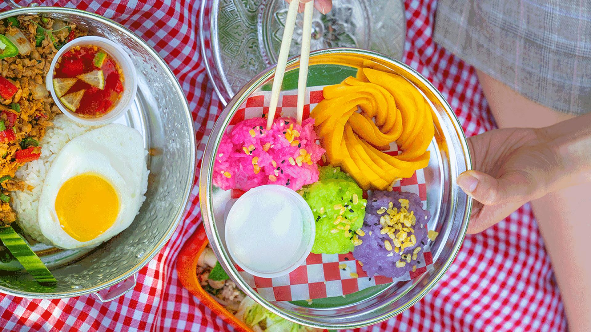 Must-try picnic baskets from Toronto restaurants   Mango sticky rice from Jatujak