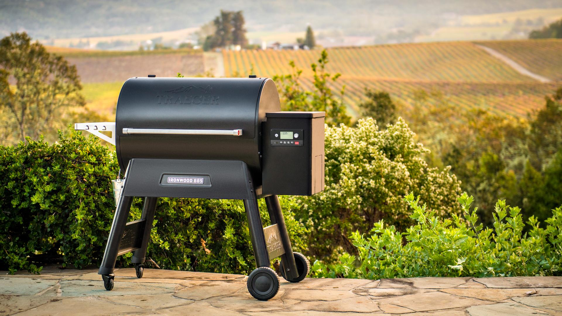 A Traeger grill has versatile functions