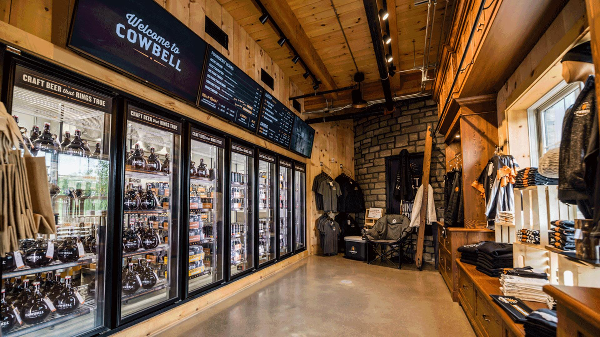 What is craft beer? An essential guide to Ontario craft beer | The gift shop at Cowbell Brewing Co.