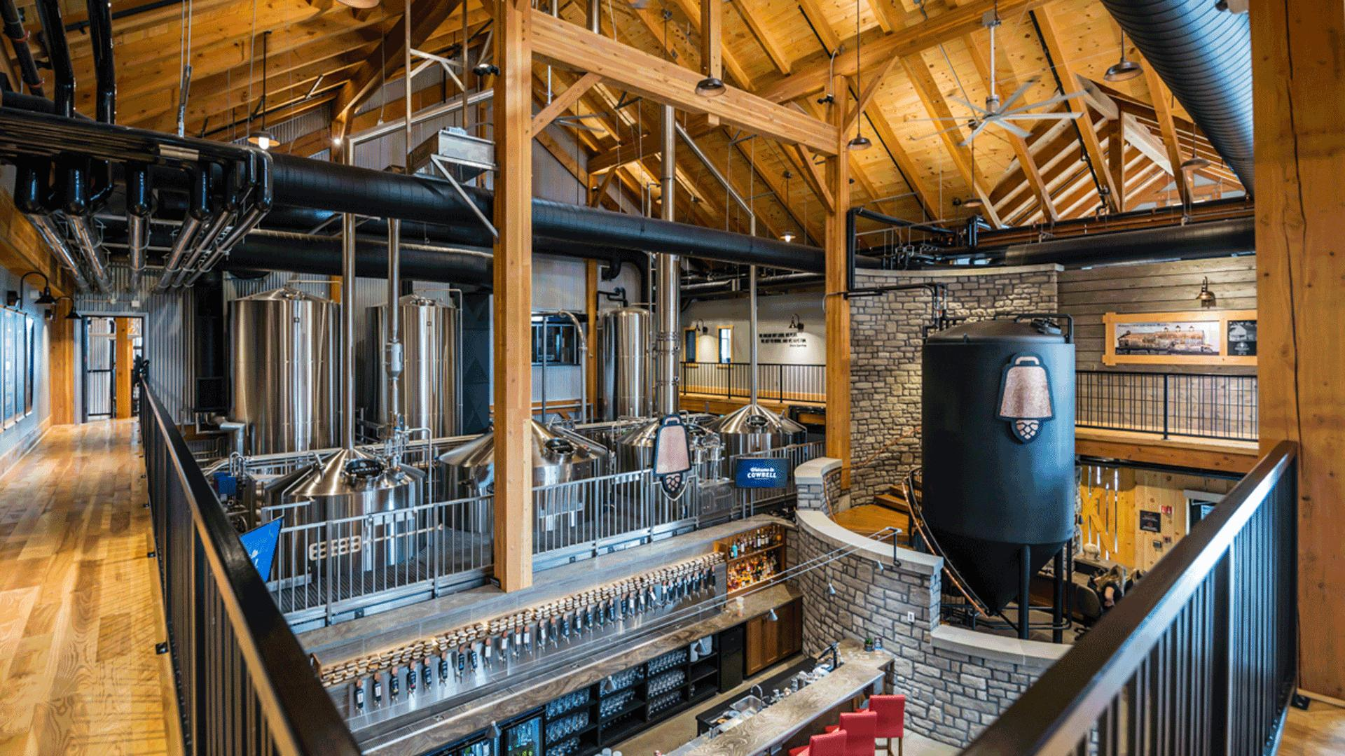 What is craft beer? An essential guide to Ontario craft beer | Inside the sprawling Cowbell Brewing Co. in Blyth Ontario
