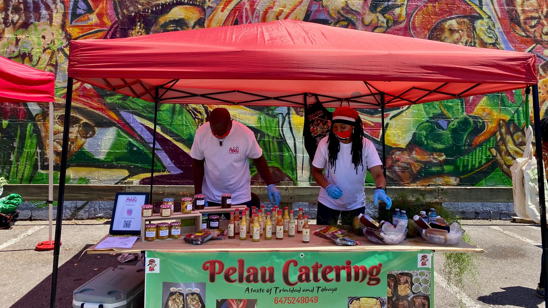 The freshest farmers' markets in Toronto | Pelau Catering at the Afro-Carribean Farmers' Market