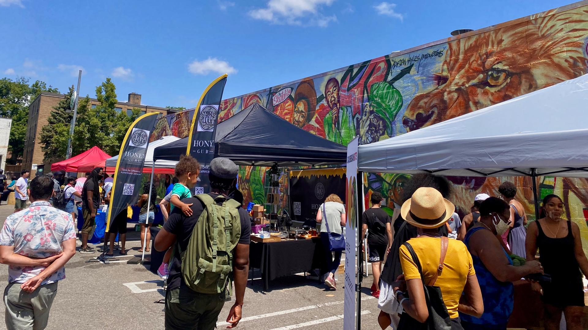 The freshest farmers' markets in Toronto | A parking lot is transformed into the Afro-Carribean Farmers' Market
