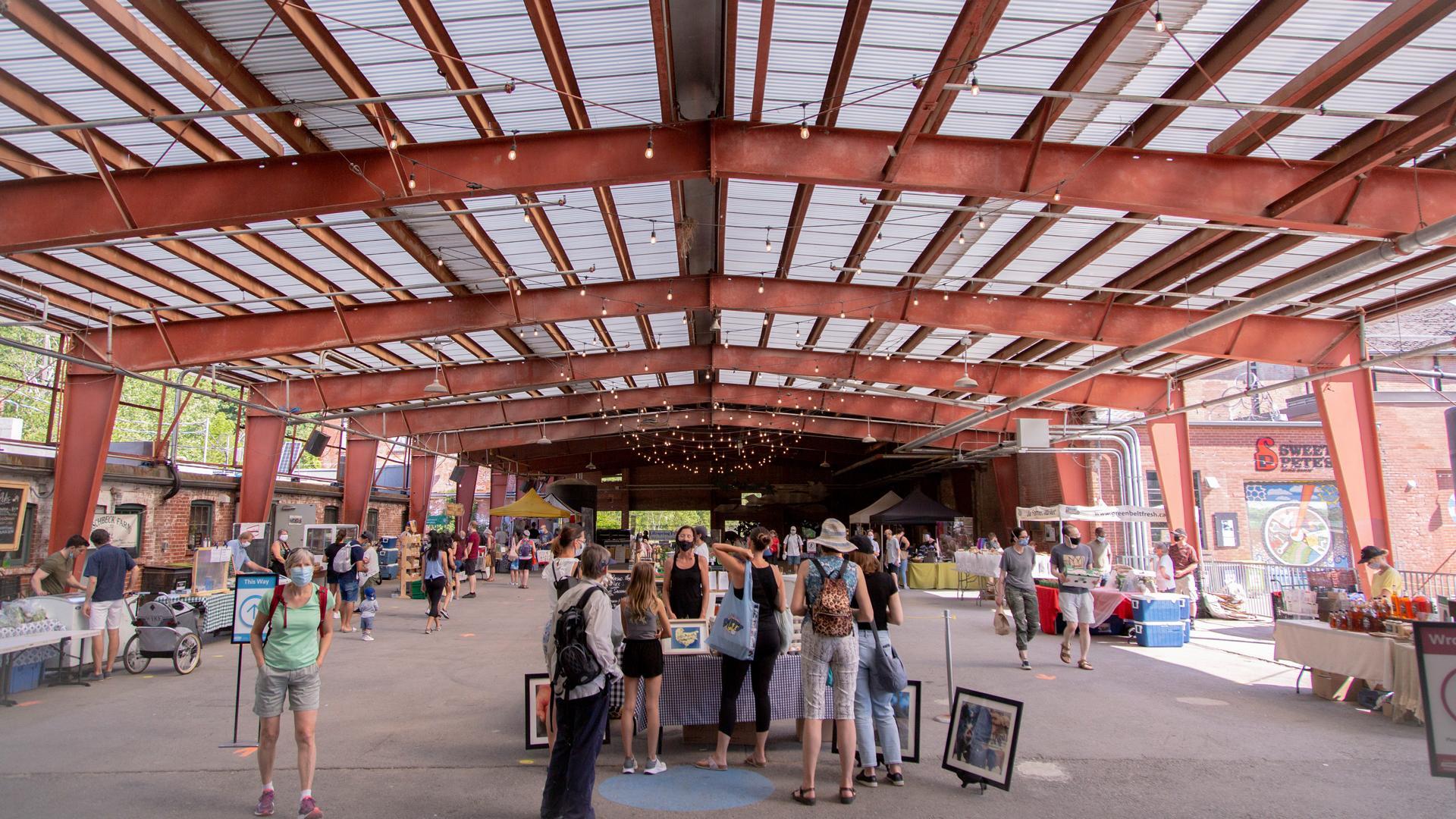 The freshest farmers' markets in Toronto | Outside the Brickworks Farmers' Market