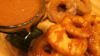Fried Apple Cinnamon & Caramelized Pineapple Rings