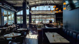 Port waterfront restaurant in Pickering