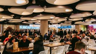 Union Station Food Court DJ lunch hour