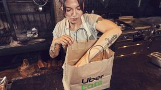 Uber Eats food delivery