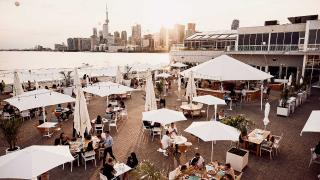 Cabana Waterfront Patio | Dinner and a Movie Tuesdays