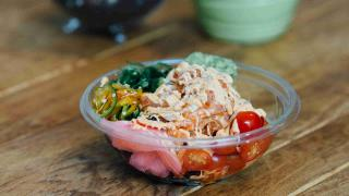 The best restaurants offering delivery and takeout in Toronto: a healthy bowl with tomatoes and ginger from Calii Love