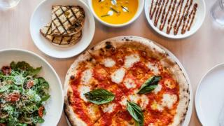 The best restaurants offering delivery and takeout in Toronto | margherita pizza at FIGO