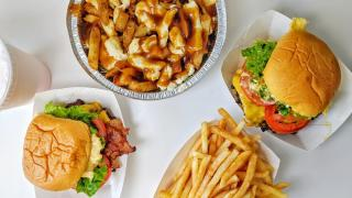 The best restaurants offering delivery and takeout in Toronto: burgers, fries and a poutine at Rudy