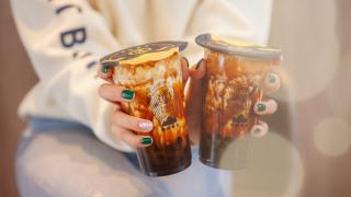 The best bubble tea in Toronto | two brown sugar milk teas from Tiger Sugar