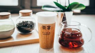 The best bubble tea in Toronto | a milk tea from Tika Tea House