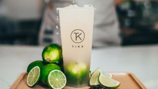The best bubble tea in Toronto | a fruit tea with limes from Tika Tea House