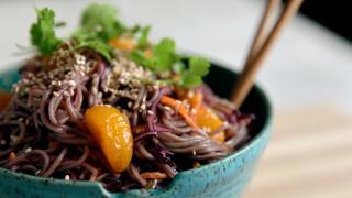 Dole Sunshine for All campaign | Soba Noodle and Mandarin Orange Bowl