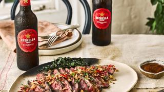 Estrella Damm Culinary Journey   Steak Bavette