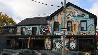 The new Collective Arts brewery and distillery on Dundas West in Toronto