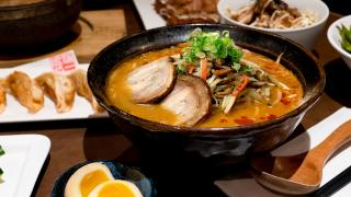 The best ramen in Toronto | Spicy red miso ramen at Ramen Isshin