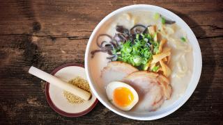 The best ramen in Toronto | Shio ramen at Ramen Isshin