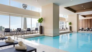 The best Toronto hotels for a staycation | Indoor saltwater pool at the Ritz-Carlton