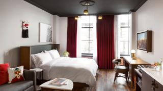 The best Toronto hotels for a staycation | One bedroom suite at The Broadview Hotel